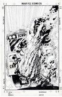QUESADA, JOE - X-Factor #87 alternate cover 1993 Comic Art